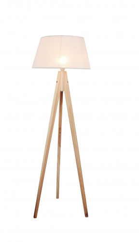 Wood Table Lamp,FL-2001-ORW,E27.Max 40W