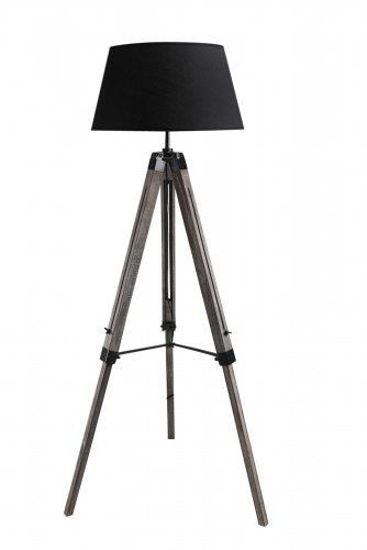 Wooden Floor lamp,FL-7101-OW,E27,Max.40W