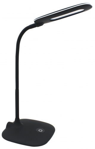 LED desk lamp,TL-7114,Black,5W,400Lumen, touch&3 steps dimmable swtich